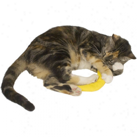 Imperial Cat Cat 'n Around Banana Refillable Catnip Toy