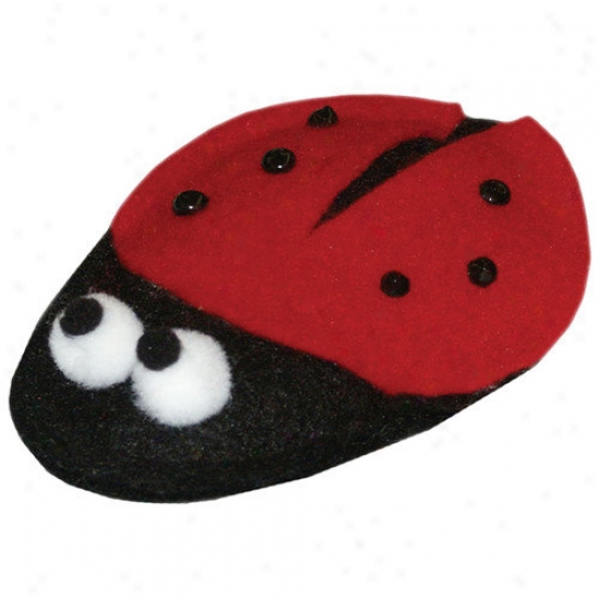 Imperial Cat Cat 'n Around Lady Bug Catnip Toy