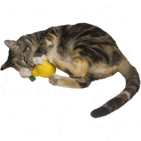Imperial Cat Cat 'n Around Lemon Refillable Catnip Toy