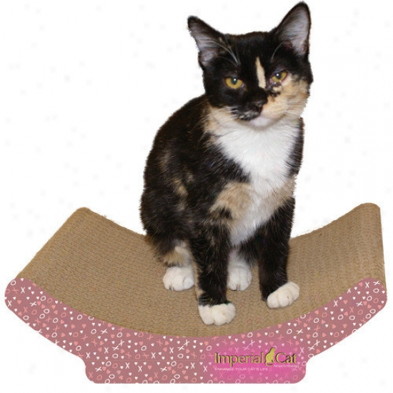 Imperial Cat Cozy Curl Recycled Paper Cat Scratching B0ard