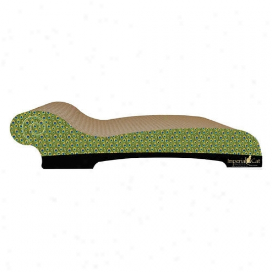 Imperial Cat Large Chaise Lounge Recycles Paper Cat Scratching Board