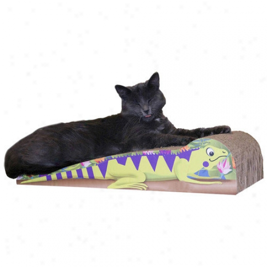 Imperial Cat Large Iguana Recycled Paper Cat Scratching Board