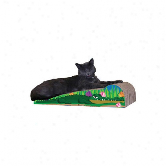 Imperial Cat Medium Crocodile Recycled Paper Scratching Board