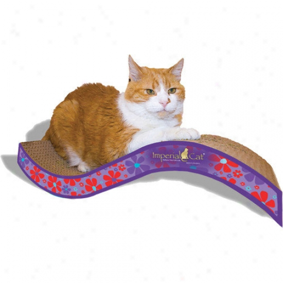 Imperial Cat Mean average Purrfect Stretch Recycled Paper Cat Scratching Board