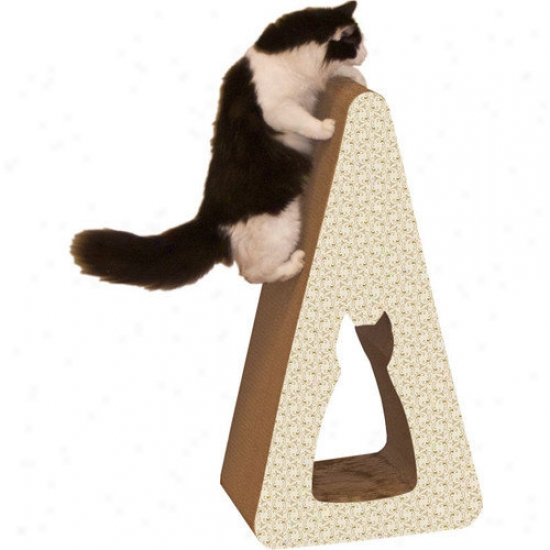 Imperial Cat Pyramid Recycled Paper Scratching Post