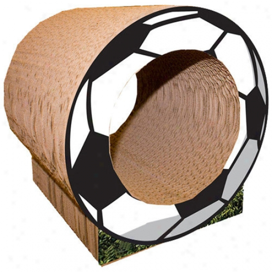 Imperial Cat Small Soccer Missile  Recycled Pape rScratching Post