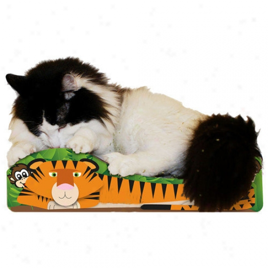 Imperial Cat Small Tigrr Recycled Paper Cat Scratching Board