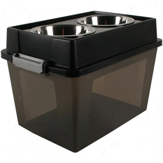 Irix Large Elevated Feeder With Airtight Storage