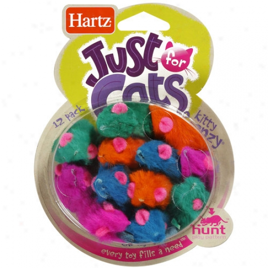 Just For Cats: Kitty Frenzy Cat Toys, 12 Pk
