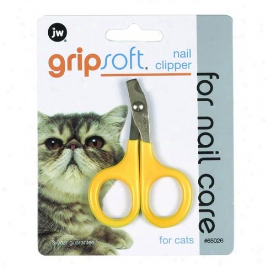 Jw 65026 Grip Soft Nail Clipper For Cats