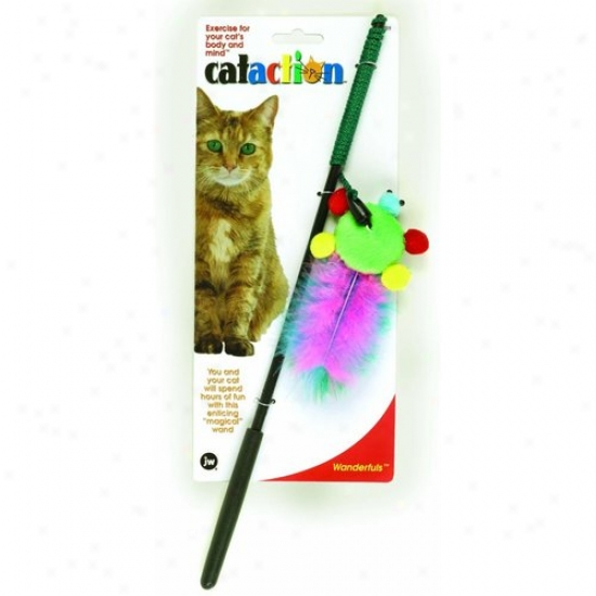 Jw 71019 Cataction Wanderfuls Cat Toy