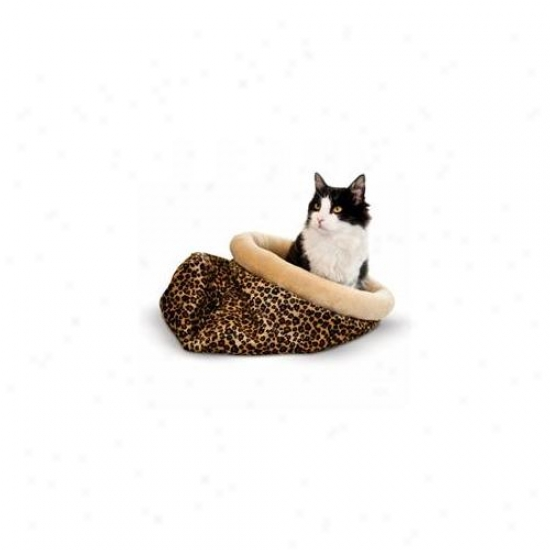 K&h 3494 Self Warmjng Kitty Sakc Leopard