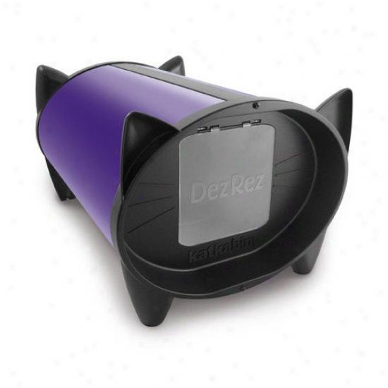 Katkabin By Brinsea Outdoor Cat House In Divine Purple