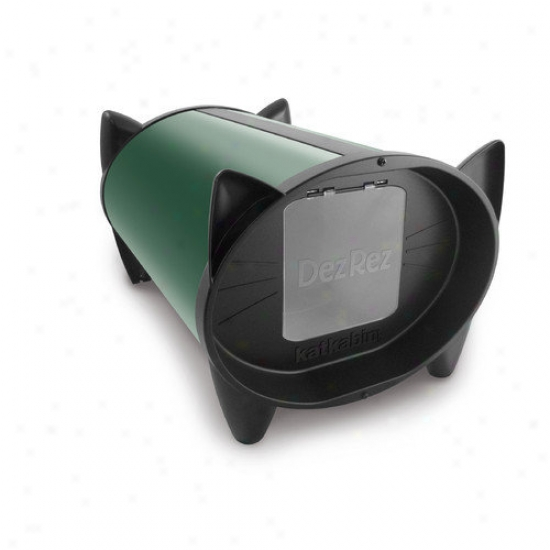 Katkabin By Brinsea Outdoor Cat House In Forest Green