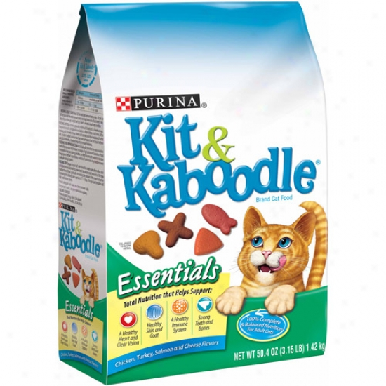 Kit And Kaboodle Essentials Cat Food, 3.15 Lbs
