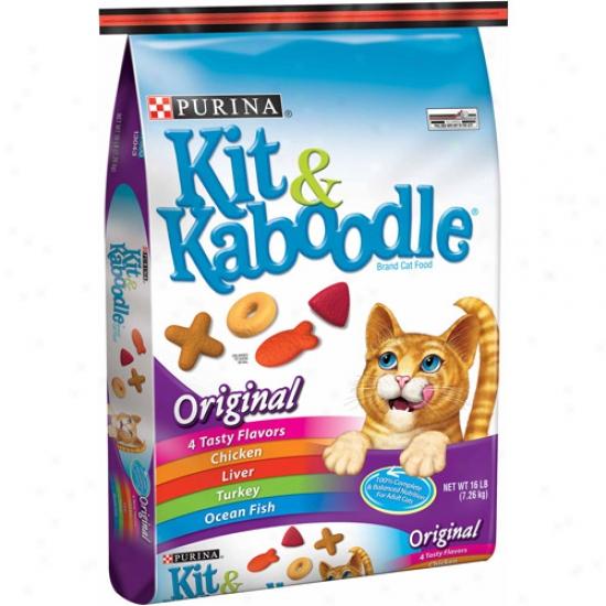 Kit And Kaboodle Original Cat Food, 16 Lbs