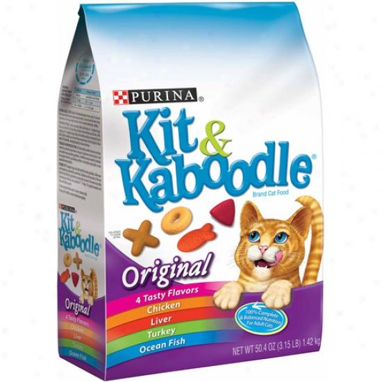 Kit And Kaboodle Original Cat Food, 3.15 Lbs