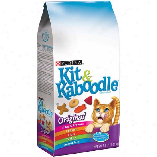 Kit And Kaboodle Original Cat Food, 6.3 Lbs