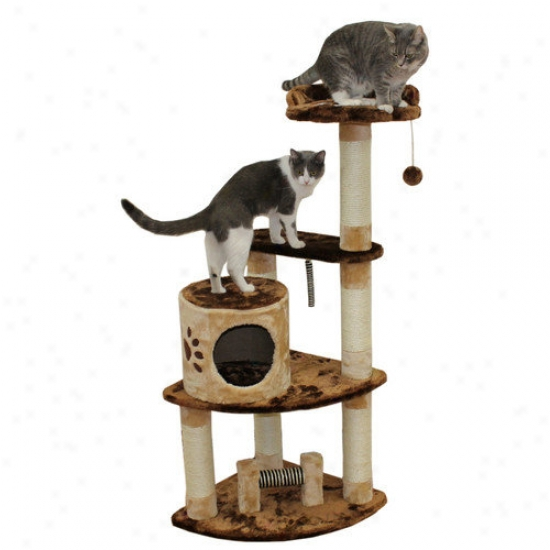 Kitty Mansions 53'' Florence Cat Tree