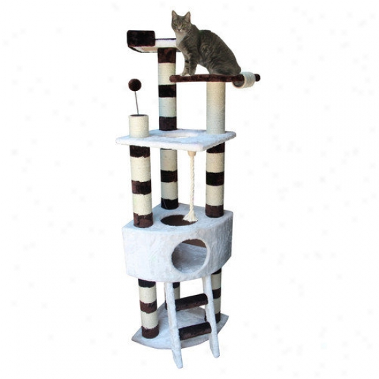 Kitty Mansions 65'' Savannah Cat Tree