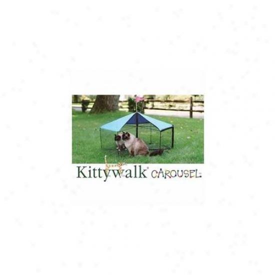 Kittywalk Kwscar105 Carousel 48 Inch Distance through the centre X 24 Inch