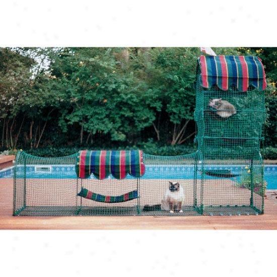 Kittywalk Systems Town & Country Outdoor Pet Enclosure