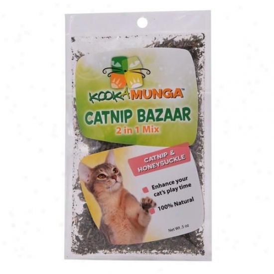 Kookamunga Catnip & Honeysuckle Catnip Bazaar, 5 Oz