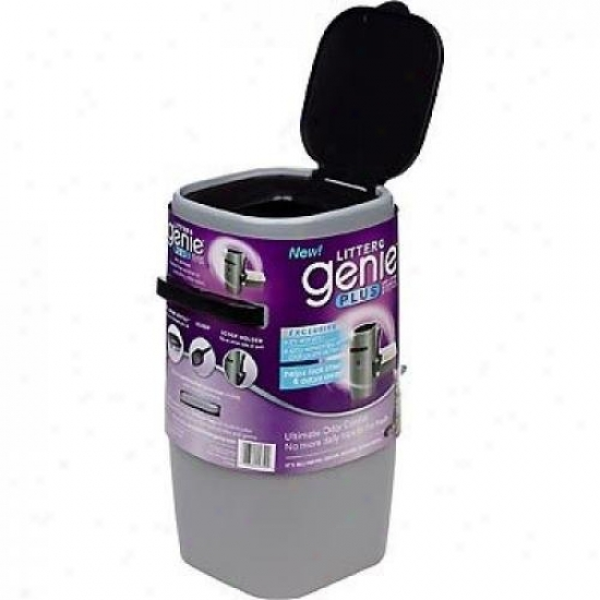 Litter Genie X0532000 Litter Genie Plus Cat Litter Disposal System