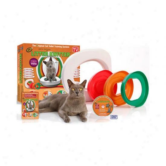 Litter Kwotter Cat Toilet Training System