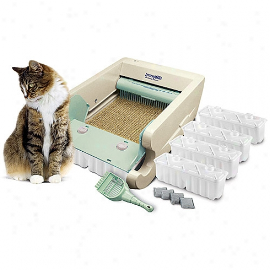 Littermaid Greek  Self-cleaning Cat Litter Box (lm580)