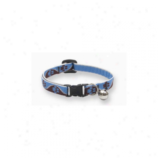 Lupine Pet Muddy Paws 1/2'' Adjustable Cat Safety Collar