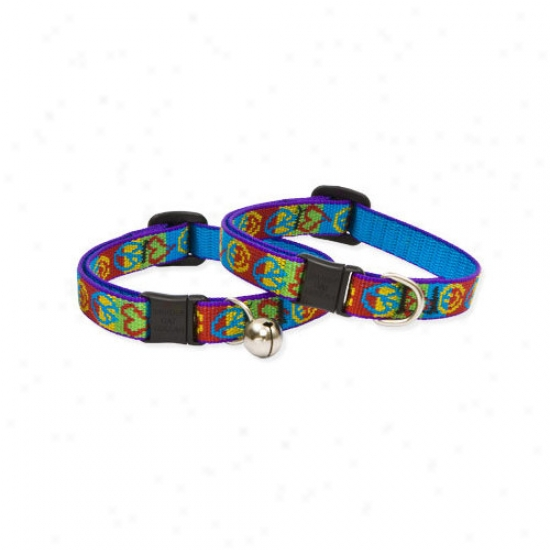 Lupine Pet Peace Pup 1/2'' Adjustable Cat Safety Collar