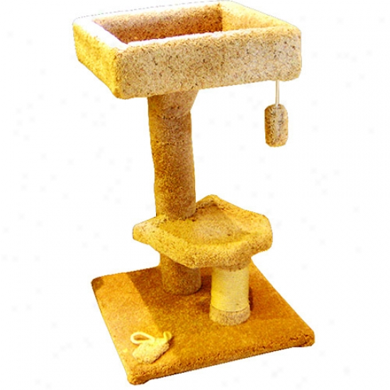 Majestic Pet3 4 In. Kitty Cat Perch