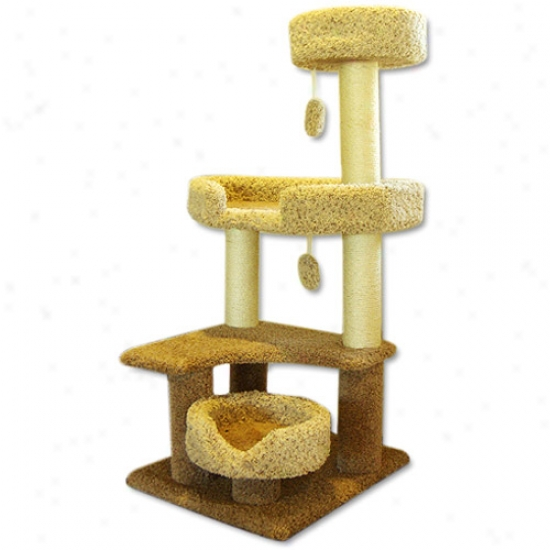 Majestic Pet Mp-8210 Majestic 55 Inch Cat Tree Jungle Gym
