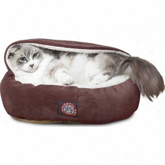 "Majestic Pet Products 18"" Suede Canopy Bed"