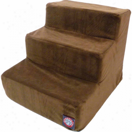 Splendid Pet Products 3 Step Suede Pet Stairs