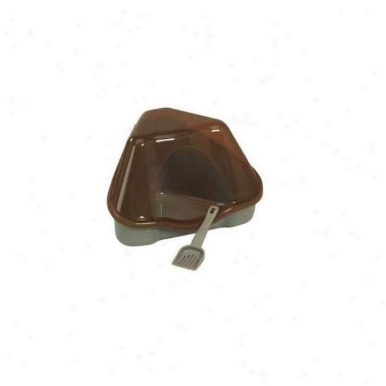 Marchioro Usa Smo34699 Nora 1c Covered Corner Litter Pan