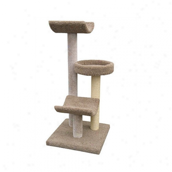 Molly And Friends 54'' Bed And Cradle Cat Tree