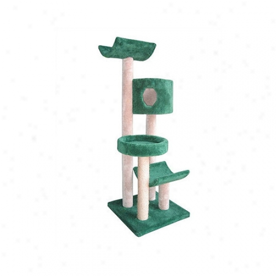 Molly And Friends Cat Tree With Condo, Bed And Cradles