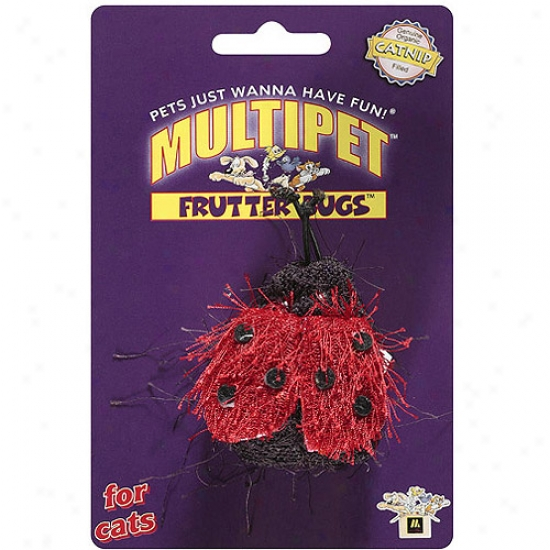 Multipet Frutter Bugs Cat Silly tale
