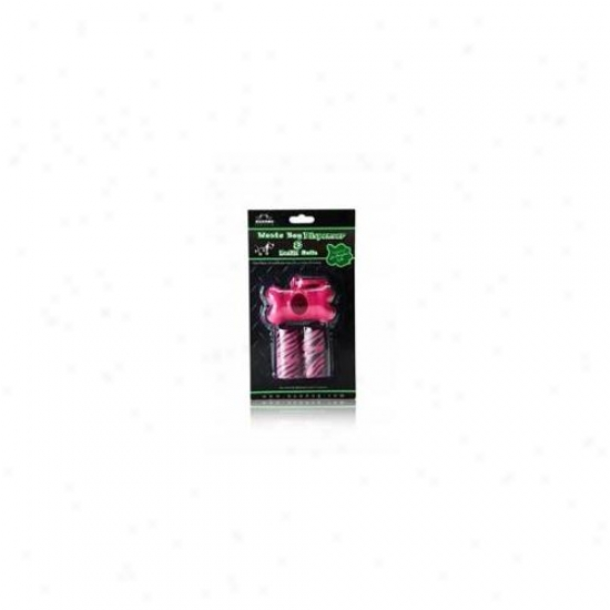Nandog Pb-2003-pk Solid Bpne Shape Pink Waste Bag Holder