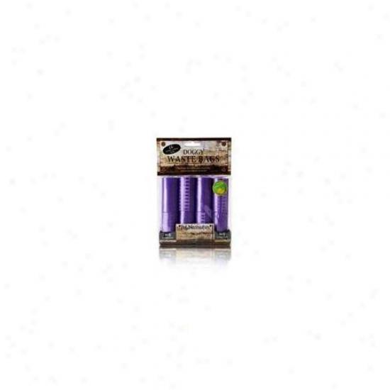 Nanfog Wbr-5005-pu 16 Pack Waste Bag Replacement Purple Modern Bone