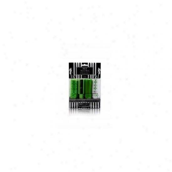 Nandog Wbr-7016-gr 16 Pack Waste Bag Replacement Green Damssk