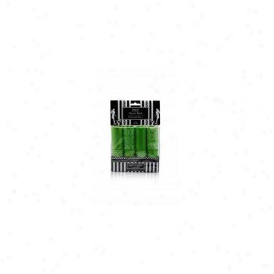 Nandog Wbr-7716-gr 16 Pack Waste Bag Replacement Green-green Coordinates