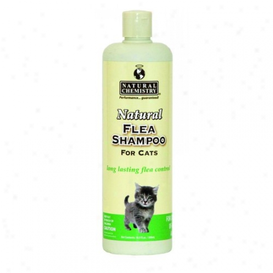 Natural Chemistry 11004 Natural Flea And Tick Shampoo For Cats