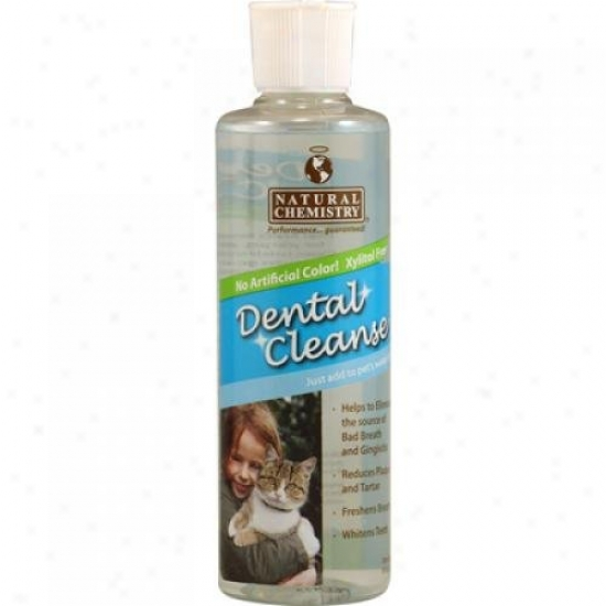 Natural Chemistry Dental Cleanse For Cats 8 Fl Oz