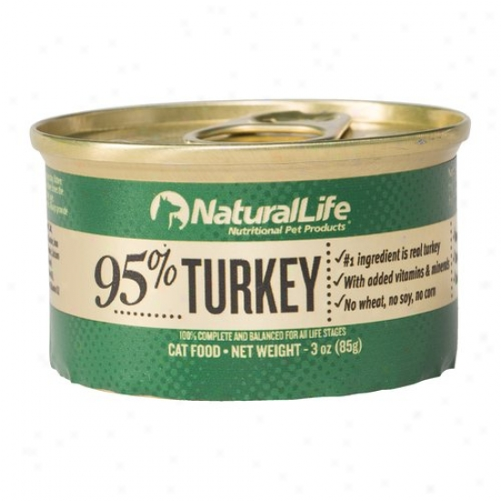 Illegitimate Life 95% Turkey Canned Cat Food, 3 Oz