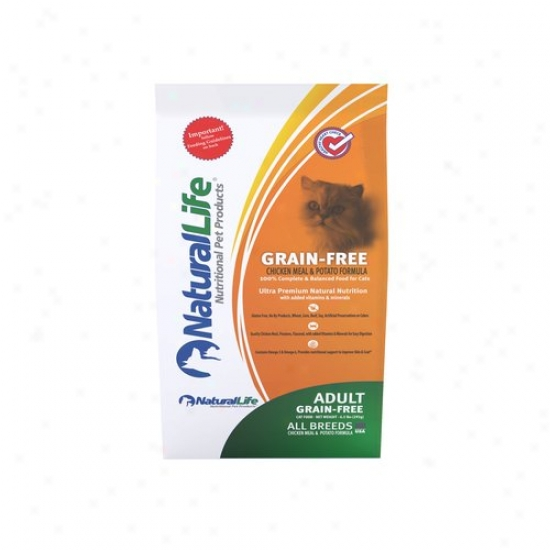 Natufal Life Grain-free Chocken Cat Food, 6.5 Lbs
