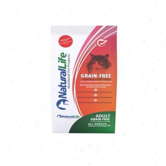 Natural Life Grain-free Salmon Cat Food,-6.5 Lbs