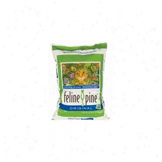 Nature S Earth Products - Feline Pine Cat Litter 40 Pound - 70750